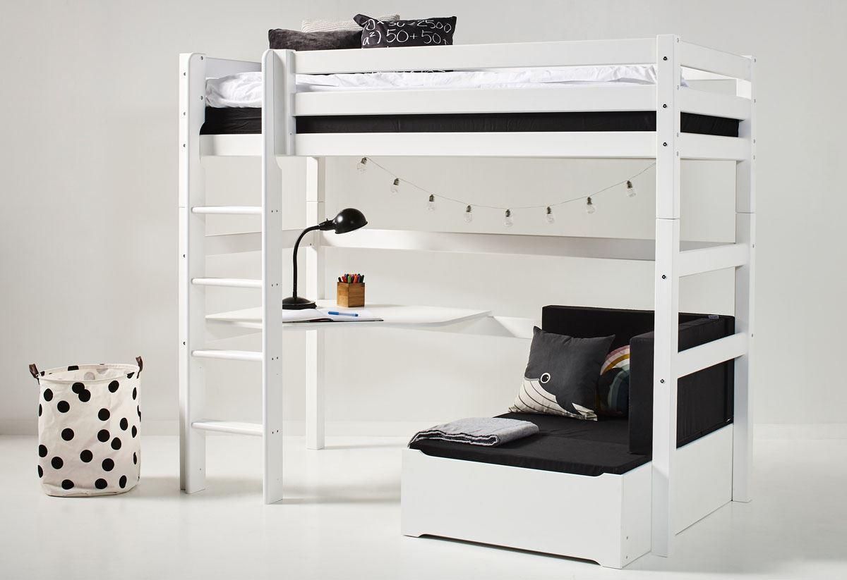 Hoppekids 'Premium' Funktionsbett weiß, inkl. Ausstattung, inkl. Rollrost Bild 1