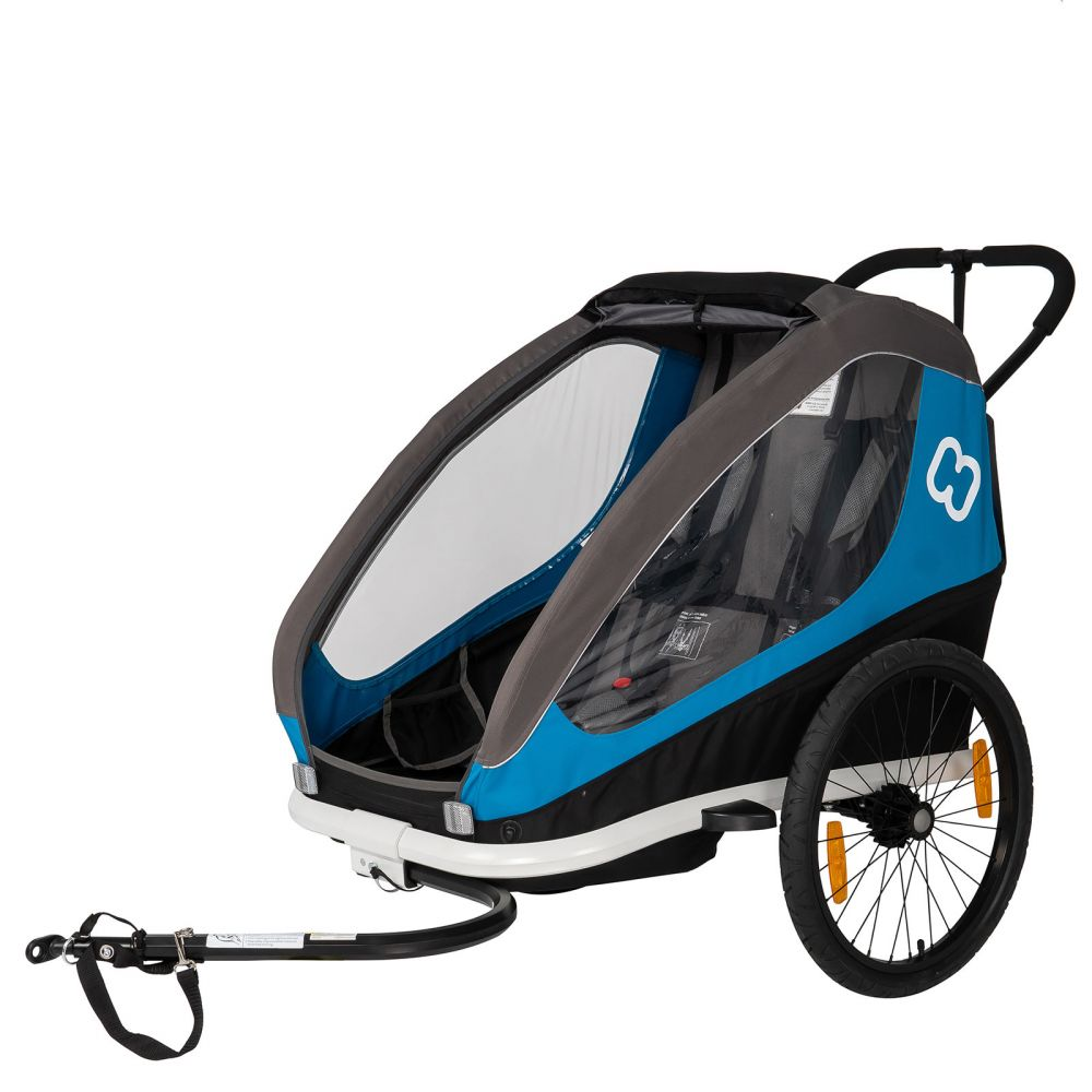 Hamax 'Traveller 2' Fahrradanhänger Blau, 2-Sitzer Bild 1
