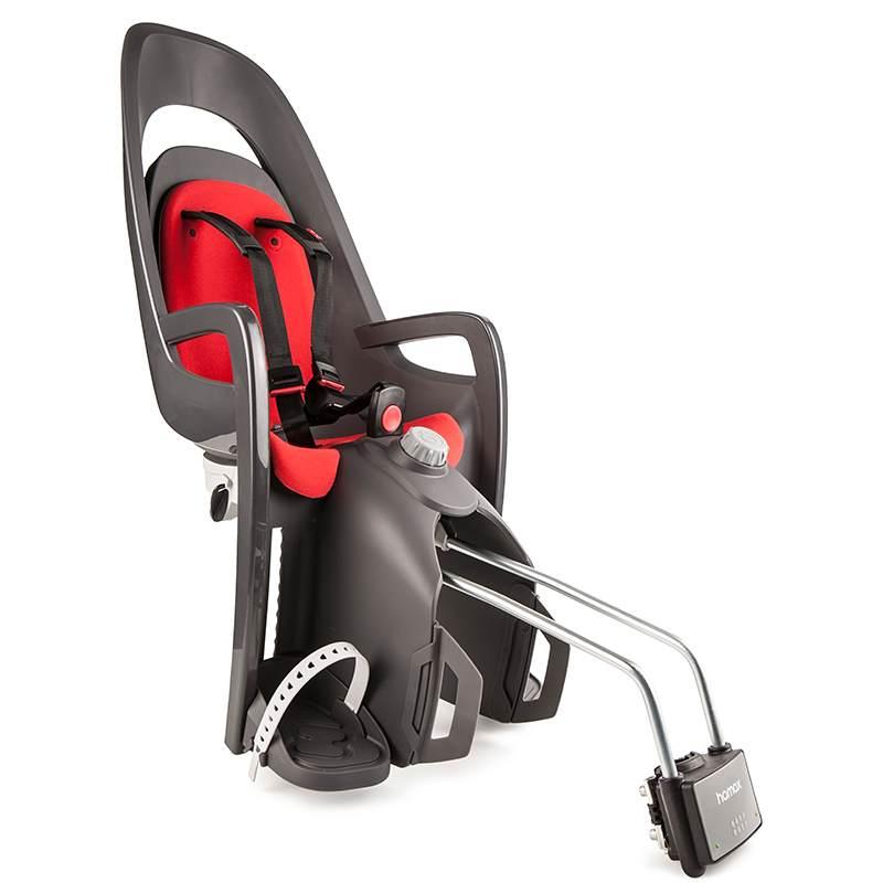 Hamax 'Caress C3' Kindersitz rot, bis 22 kg inkl. Rahmenhalterung Bild 1