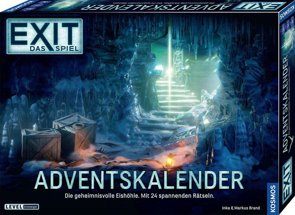 Kosmos 'EXIT' Das Spiel: Adventskalender 2020, Die geheimnisvolle Eishöhle, Escape Room Spiel vor Weihnachten, 24 spannende Rätsel ab 10 Jahre Bild 1