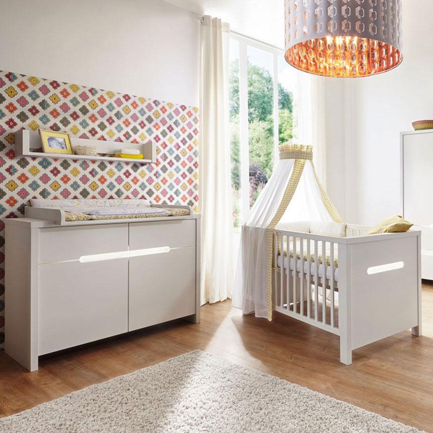 Schardt 'Poppy White' 2-tlg. Babyzimmer-Set Bild 1