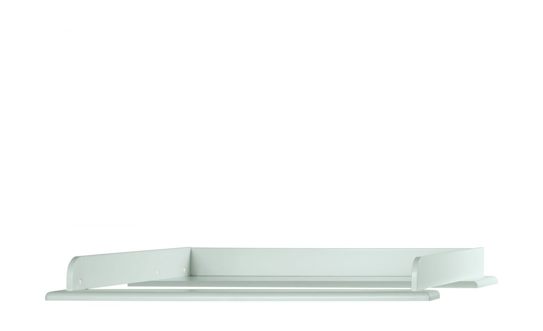 Miami Wickelaufsatz 80x75cm, passend Kommoden, Holz, Mint metallic, 80.8 x 97.6 x 8 cm Bild 1