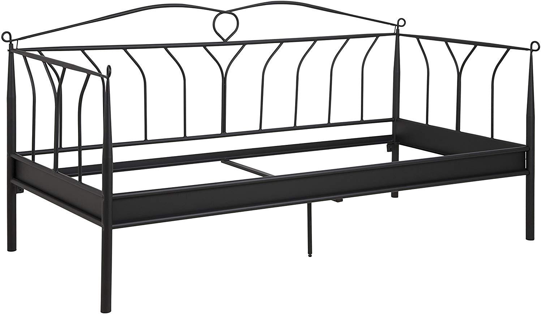 AC Design Metallbett 90x200 schwarz Bild 1
