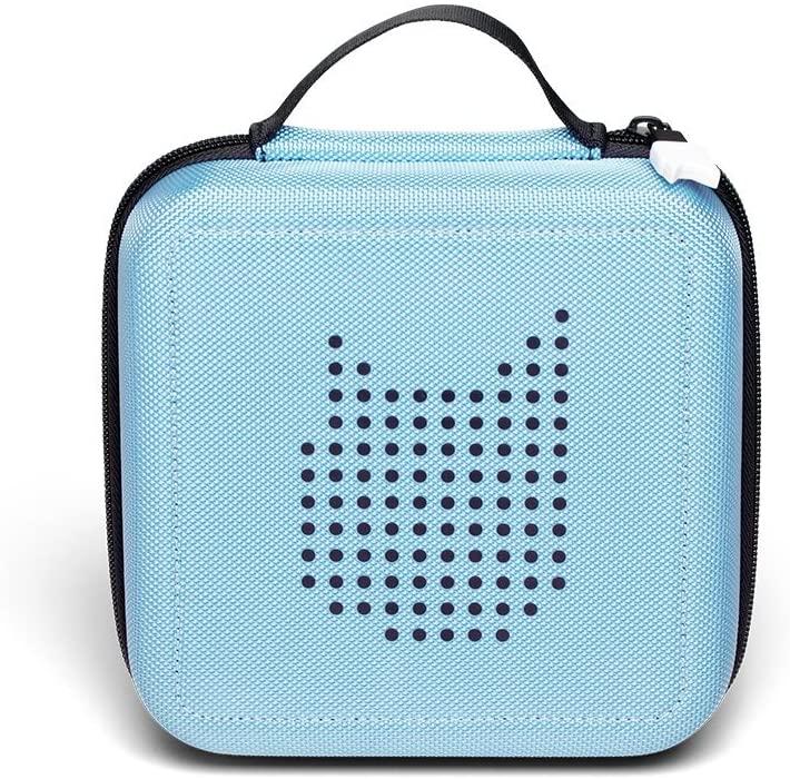 Tonies 'Tonie-Transporter' Transporttasche Hellblau, Box zur Aufbewahrung von bis zu 20 Tonies Hörfiguren, leicht, abwaschbar, Reißverschluss, 17,5 x 17,5 cm Bild 1