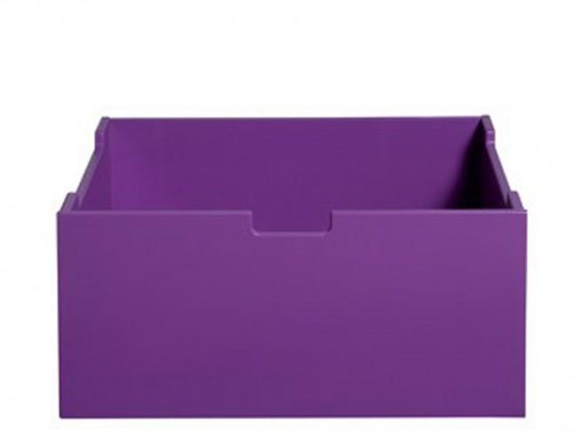 BOPITA Mix & Match Kiste für Schrank und Kommode lila Bild 1