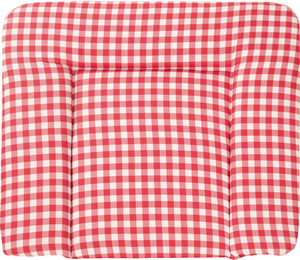 Roba 'Soft Sunny Day' Wickelauflage 75 x 85 cm rot/weiß Bild 1