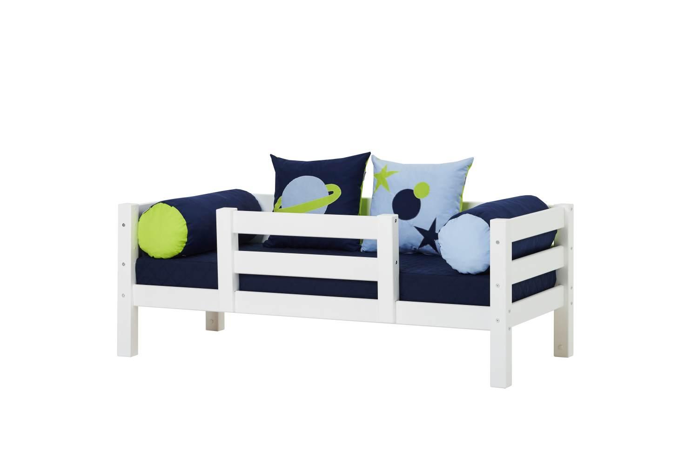 Hoppekids 'Premium' Einzelbett inkl. Absturzschutz und Rolllattenrost,70x160cm Bild 1