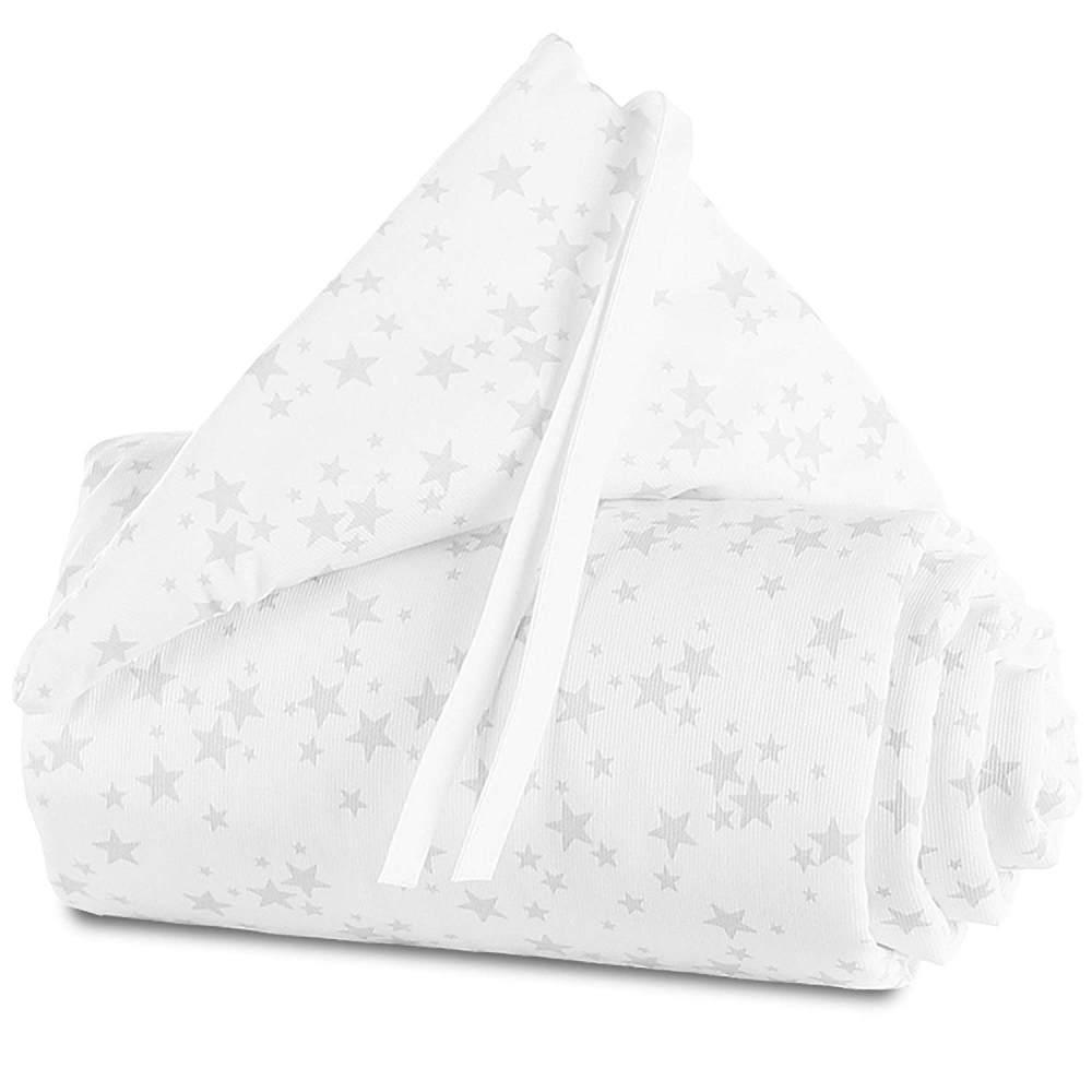 Babybay 'Piqué' Bettnestchen für Babybay Original weiß/grau,Sterne Bild 1