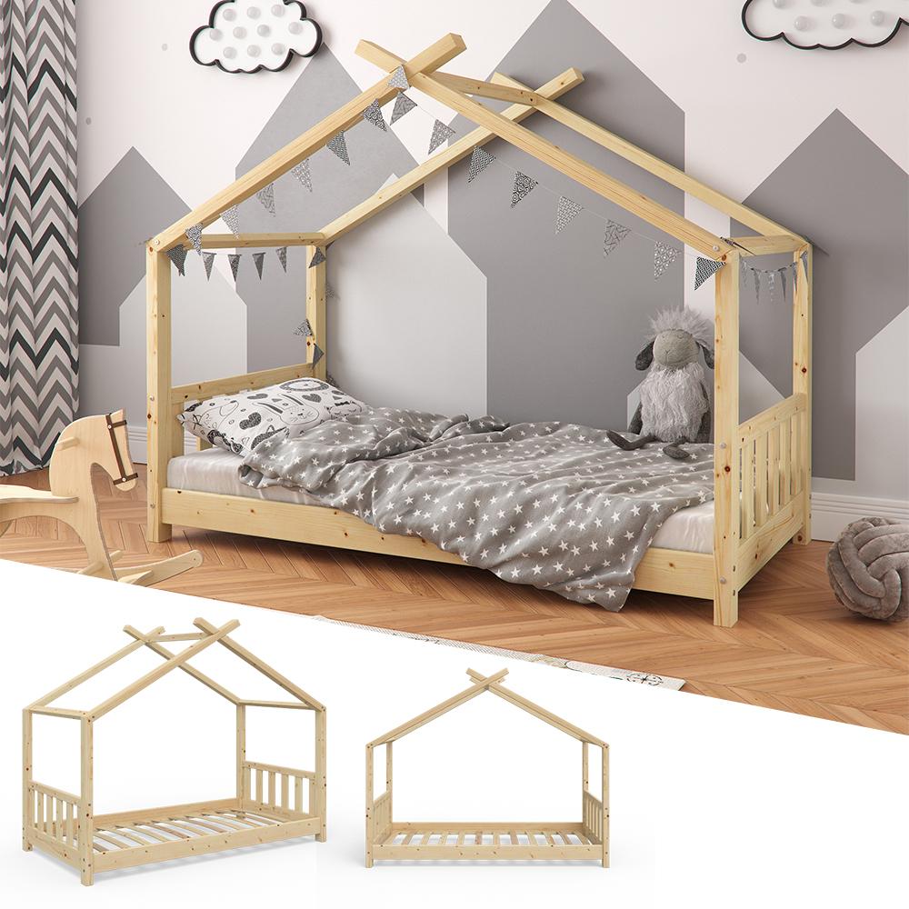 VitaliSpa 'Design' Hausbett Natur, 80x160 cm Bild 1