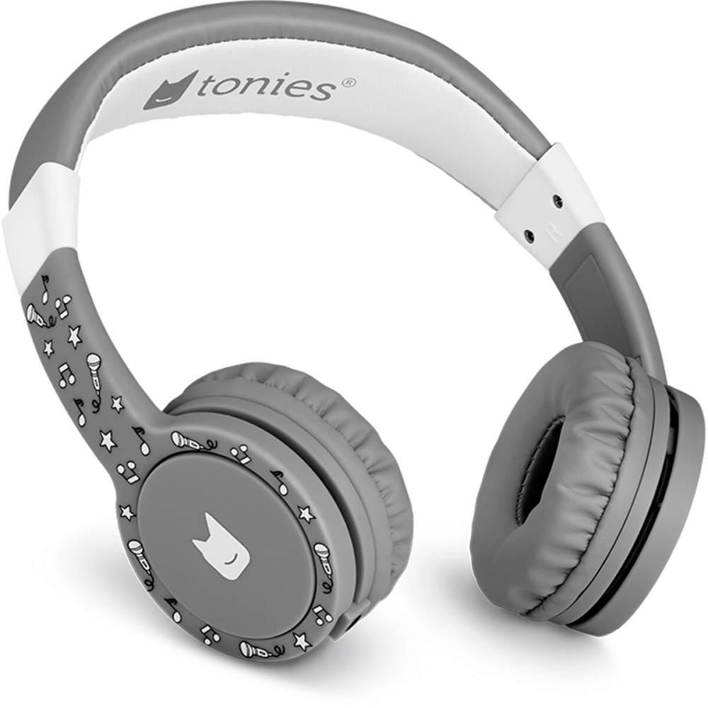 Tonies 'Tonie-Lauscher' Anthrazit/Grau, Kinder-Kopfhörer passend zur Toniebox, Lautstärke reguliert, abnehmbares Kabel, größenverstellbar, bewegliche Ohrmuscheln Bild 1