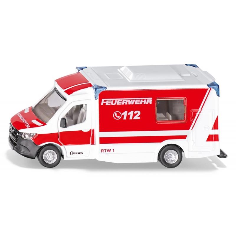 SIKU 2115 Mercedes-Benz Sprinter Miesen Typ C Rettungswagen Bild 1
