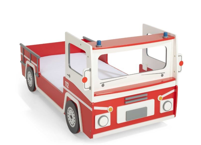 Demeyere Feuerwehrbett rot Bild 1
