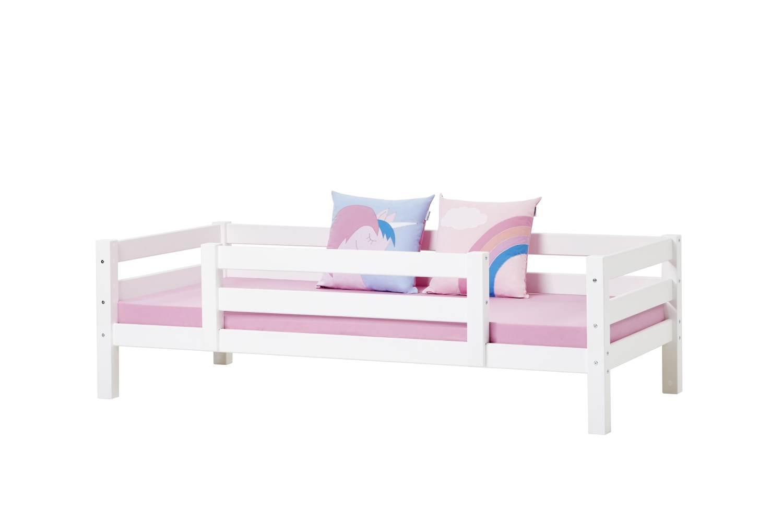 Hoppekids 'Premium' Einzelbett inkl. Absturzschutz und Rolllattenrost, 90x200cm Bild 1