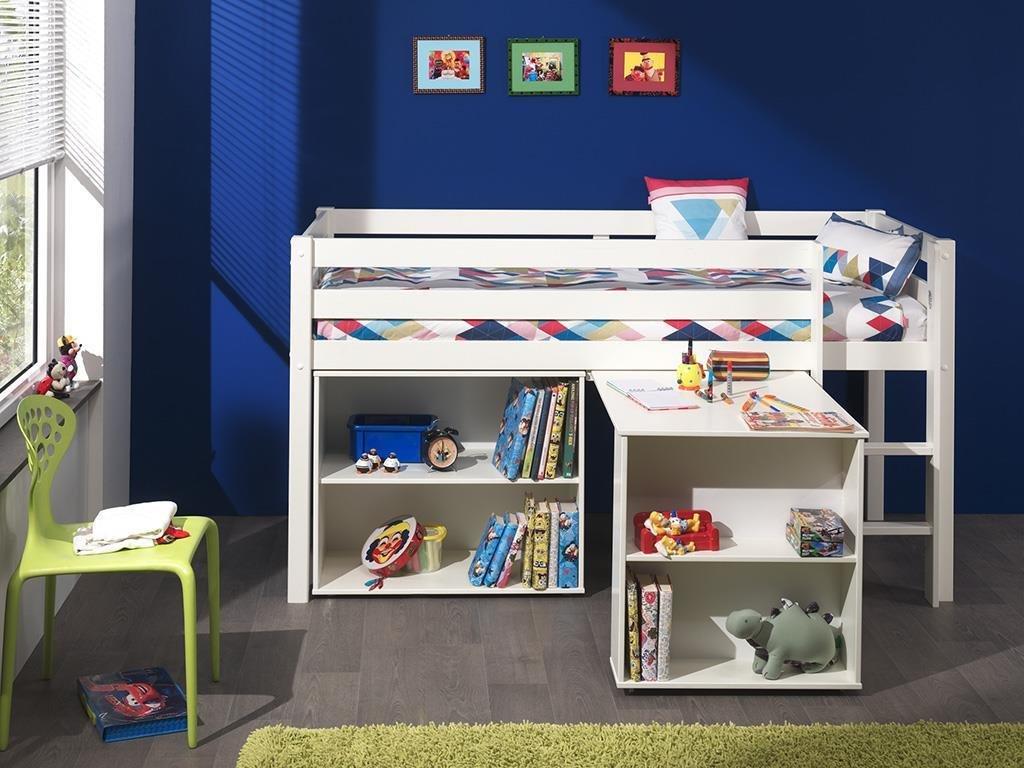 Spielbett Pino mit Schreibtisch und Regal Bild 1