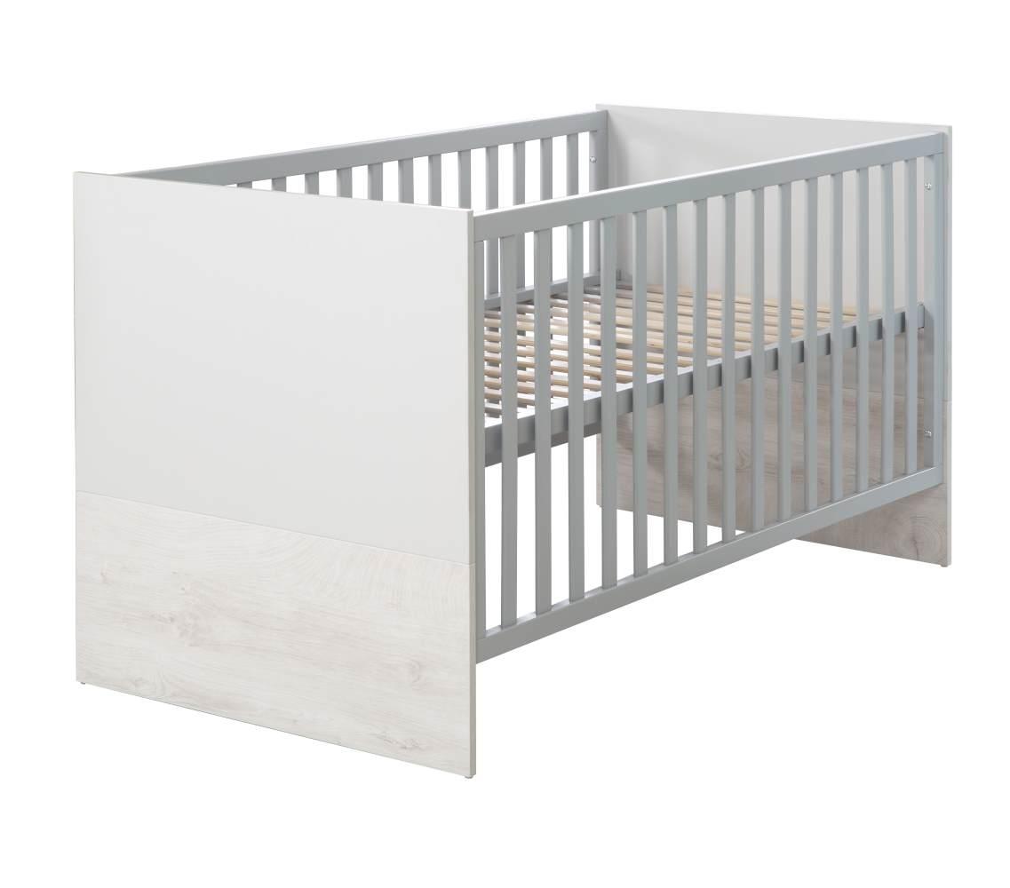 Roba 'Maren 2' Kombi-Kinderbett, 70x140cm weiß/lichtgrau Bild 1