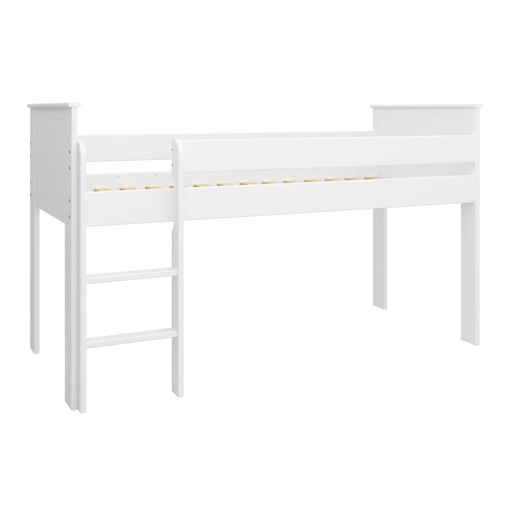 Steens 'ALBA' Halbhochbett 90 x 200 cm, weiß, inkl. Lattenrost Bild 1