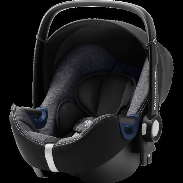 Britax Römer 'Babysafe 2 i-Size Cool Flow' Babyschale 2020 Graphite Marble Gruppe 0+, mit Base Bild 1