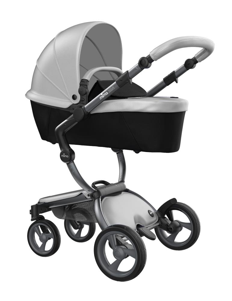 Mima Xari Design Kinderwagen Kollektion 2021 Graphite Grey Argento Bild 1