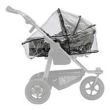 TFK Regenschutz für Mono Kombi Kinderwagen Bild 1