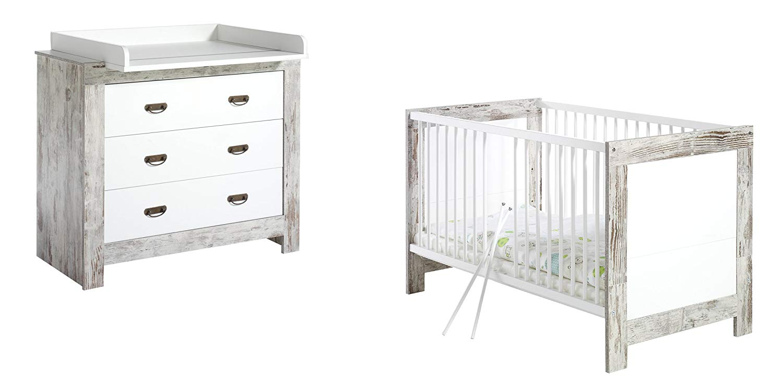 Schardt 'Nordic Chic' 3-tlg. Spar Babyzimmer Set Bild 1