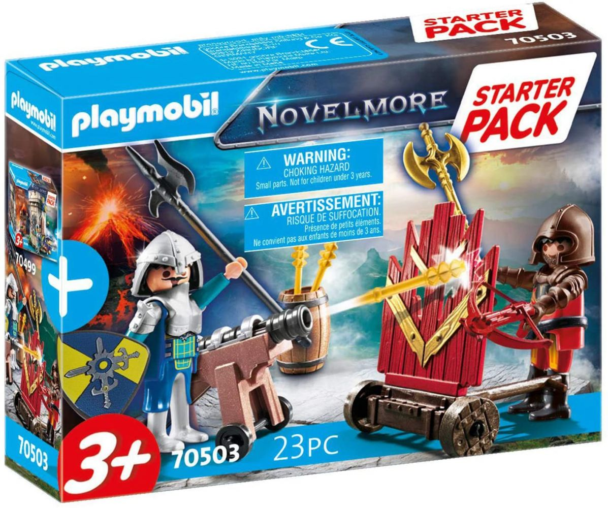 Playmobil Novelmore 70503 'Starter Pack Novelmore Ergänzungssset', 23 Teile, ab 3 Jahren Bild 1