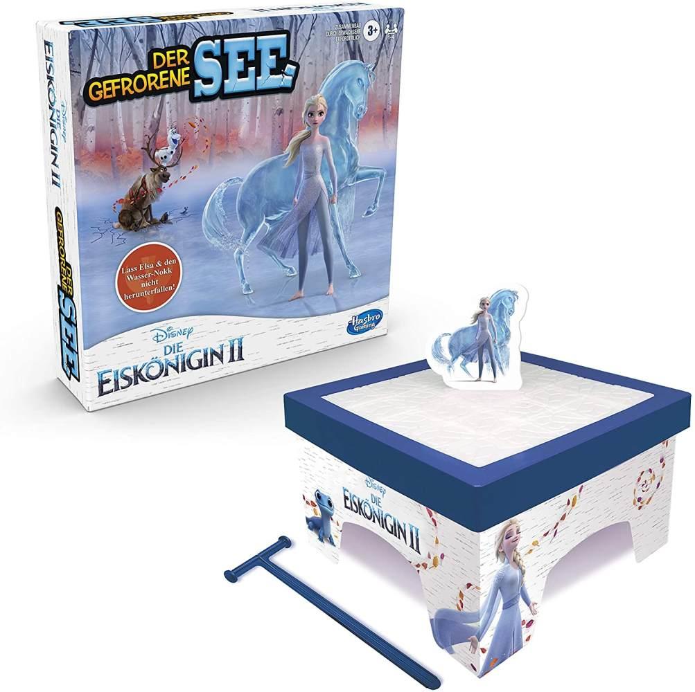 Hasbro 'Die Eiskönigin 2 - Der gefrorene See' Geschicklichkeitsspiel, ab 3 Jahren, 1-4 Spieler, mit Elsa und dem Wasser-Nokk, Frozen 2 (F0010100) Bild 1