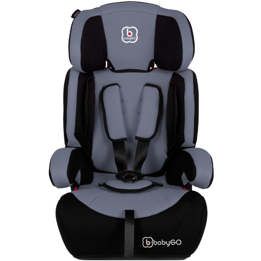 BabyGO 'Motion' Autositz in Grau, 9 bis 36 kg (Gruppe 1/2/3) Bild 1