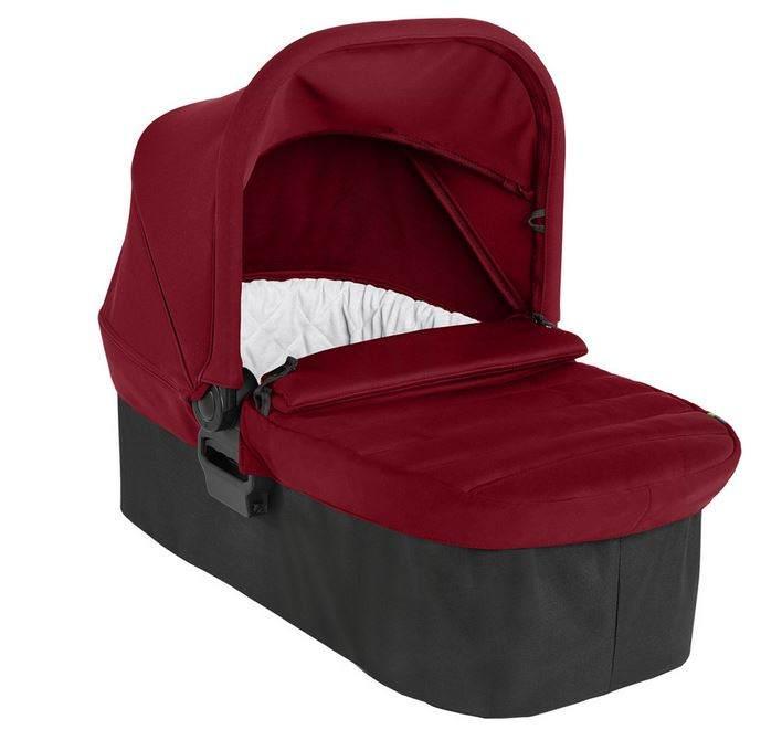 Baby Jogger Faltbare Babywanne für Die Einzelkinderwagen City Mini 2 & City Mini GT2, 0-6Monate (9kg), Ember (schwarz/rot) Bild 1