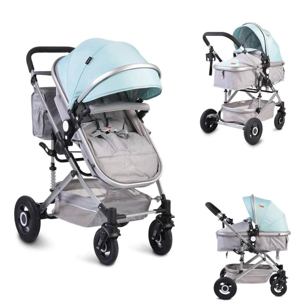 Moni Kinderwagen Ciara Tragetasche, Sportsitz, Wickeltasche, faltbar Sitz blau Bild 1