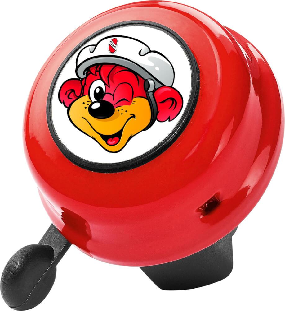 Puky - Sicherheitsglocke G22 für Roller, Laufräder und Fahrräder rot Bild 1