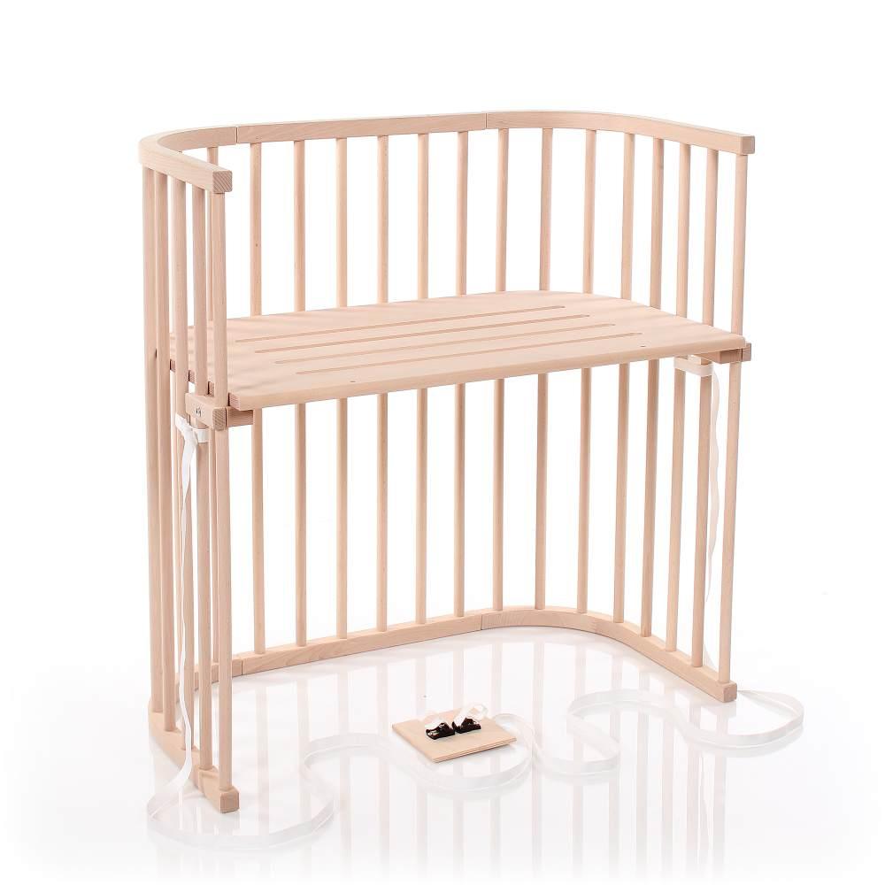Babybay 'Boxspring' Beistellbett unbehandelt Bild 1