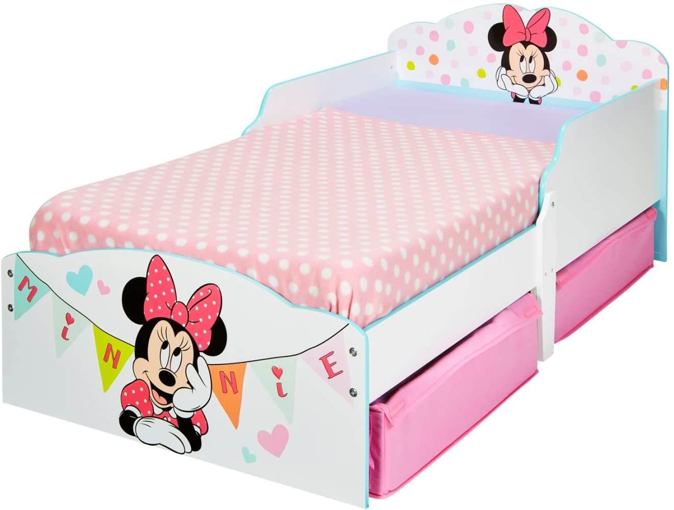 Worlds Apart 'Minnie Mouse' Kinderbett weiß 70 x 140 cm Bild 1