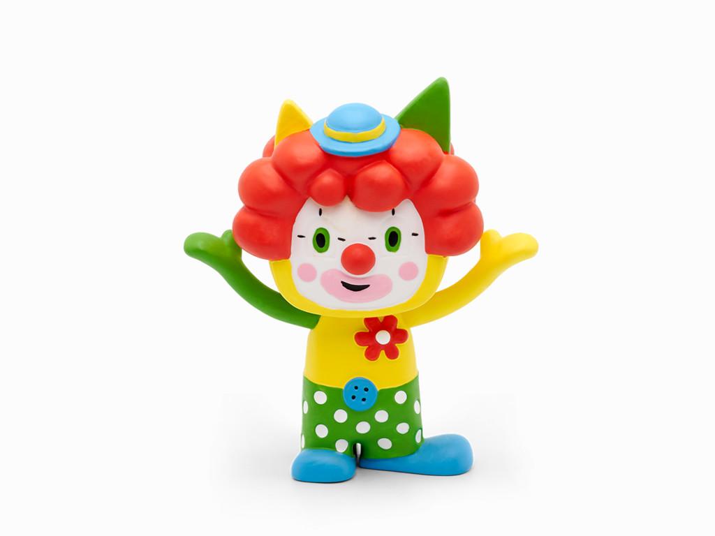 tonies Hörfiguren für Toniebox - Kreativ Clown - ca. 90 Minuten Speicher für Deine Musik, Geschichten, Hörbücher und Eigene Audiodateien - DEUTSCH Bild 1
