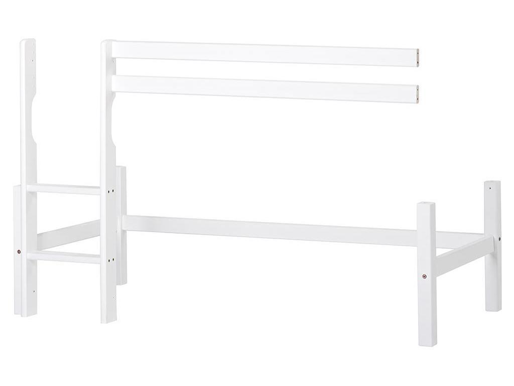 Hoppekids 'Basic' Halbhohes Modul für Bett 70 x 160 cm weiß Bild 1