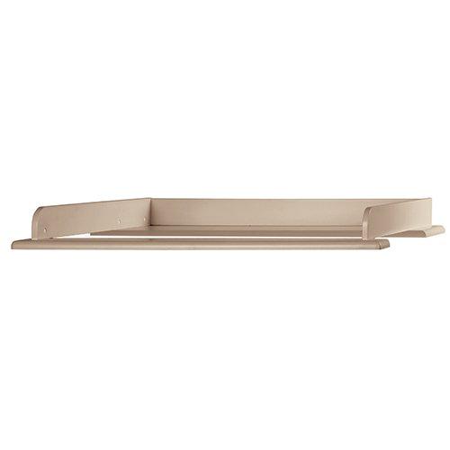 Miami Wickelaufsatz 80x75cm, passend Kommoden, Holz, Taupe metallic, 80.8 x 97.6 x 8 cm Bild 1