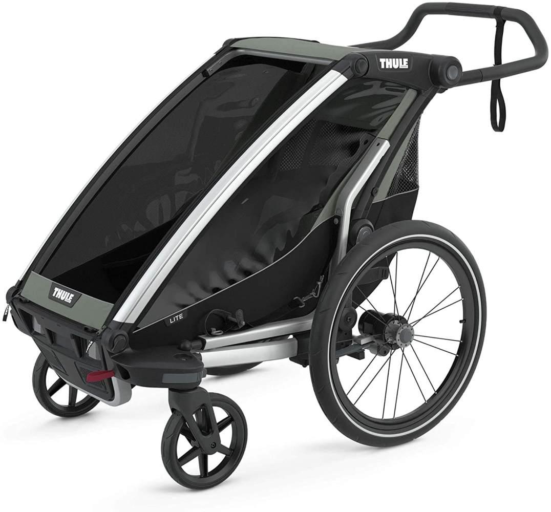 Thule 'Chariot Lite 1' Fahrradanhänger 2021 Agave, 1-Sitzer Bild 1
