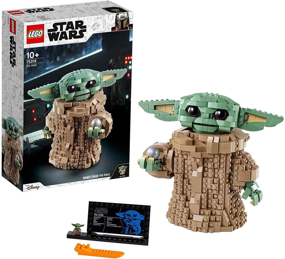 LEGO 'Star Wars' 75318 The Mandalorian, Das Kind 'Baby Yoda', Bauspielzeug zum Sammeln für Fans ab 10 Jahren, Bauset Bild 1