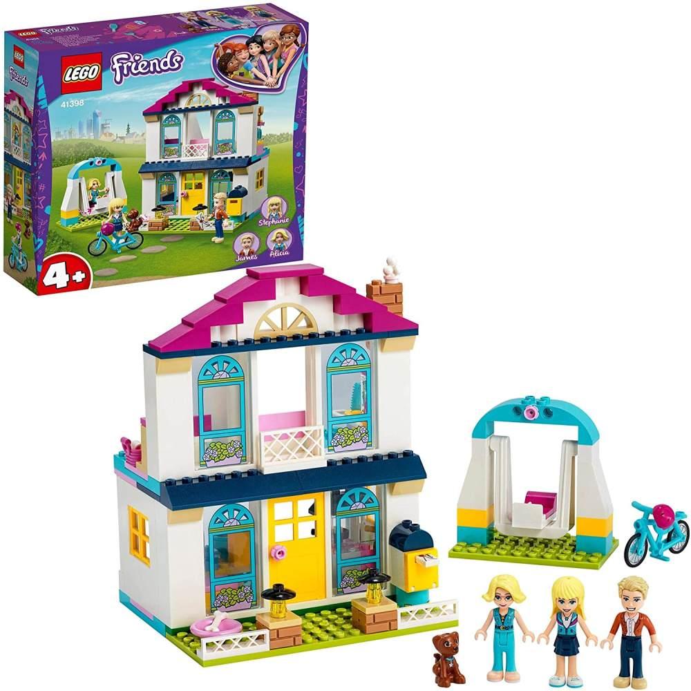 LEGO Friends 41398 '4+ - Stephanies Familienhaus', 170 Teile, ab 4 Jahren, Spielvergnügen für Kinder im Vorschulalter Bild 1
