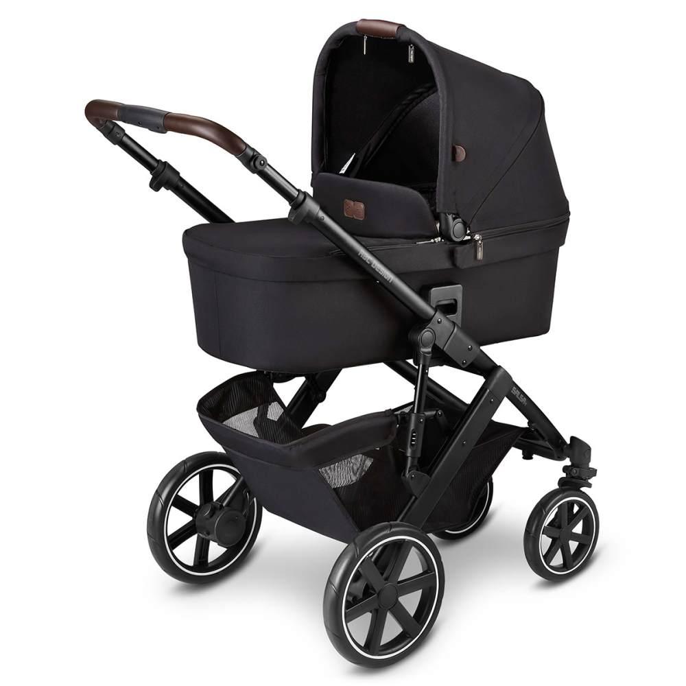 ABC Design 'Salsa 4' Kombikinderwagen 3 in 1 Set S midnight inkl. Babyschale graphite grey, Adapter und Regenschutz Bild 1