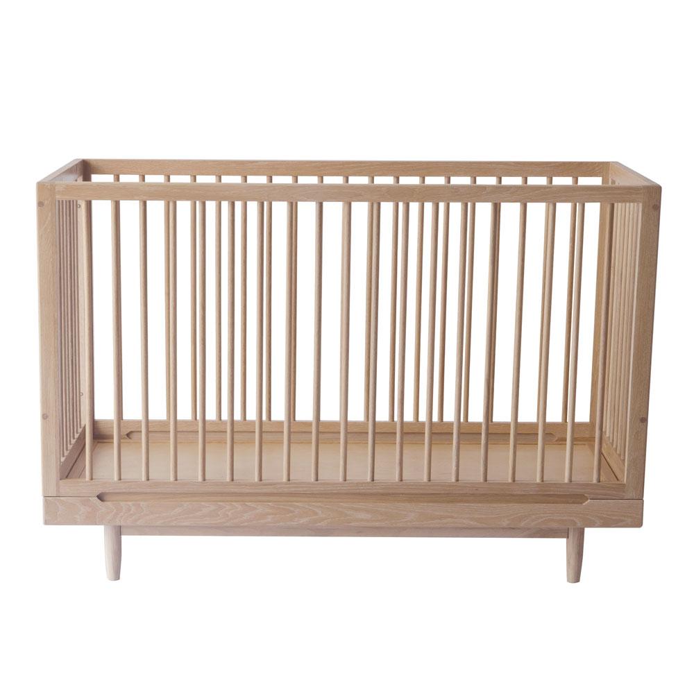 Nobodinoz 'Pure' Babybett 70 x 140 cm Eiche Bild 1