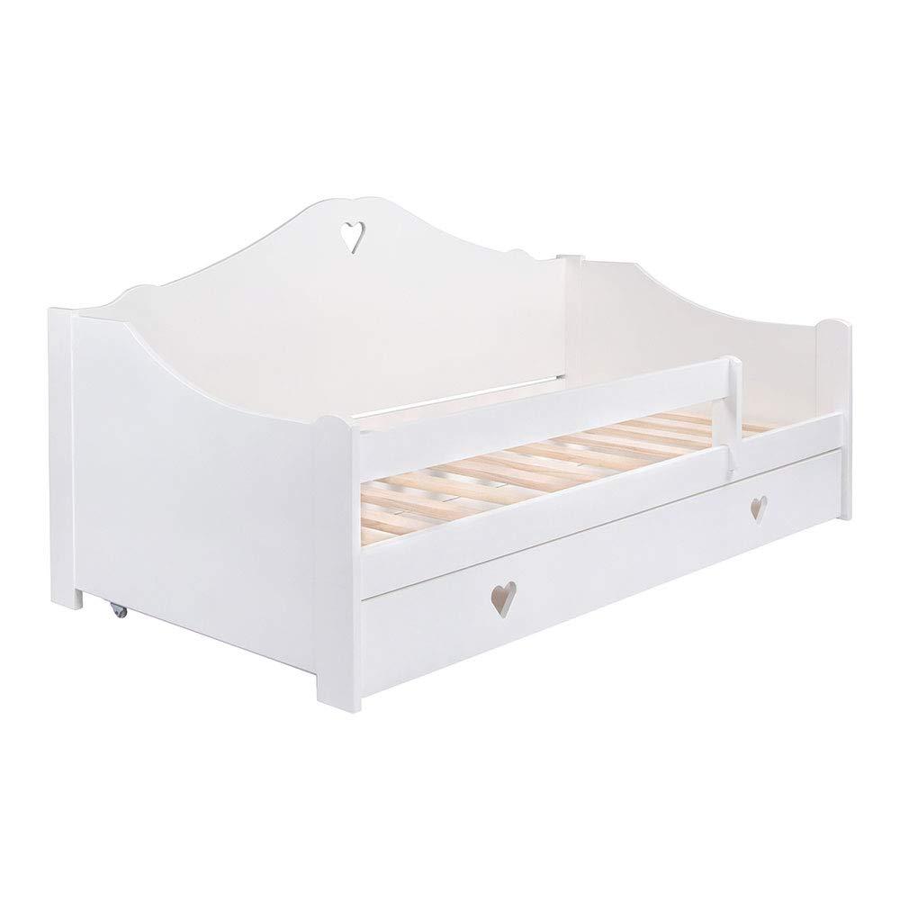 KAGU Kinderbett CANDY 160 x 80 cm white Bild 1