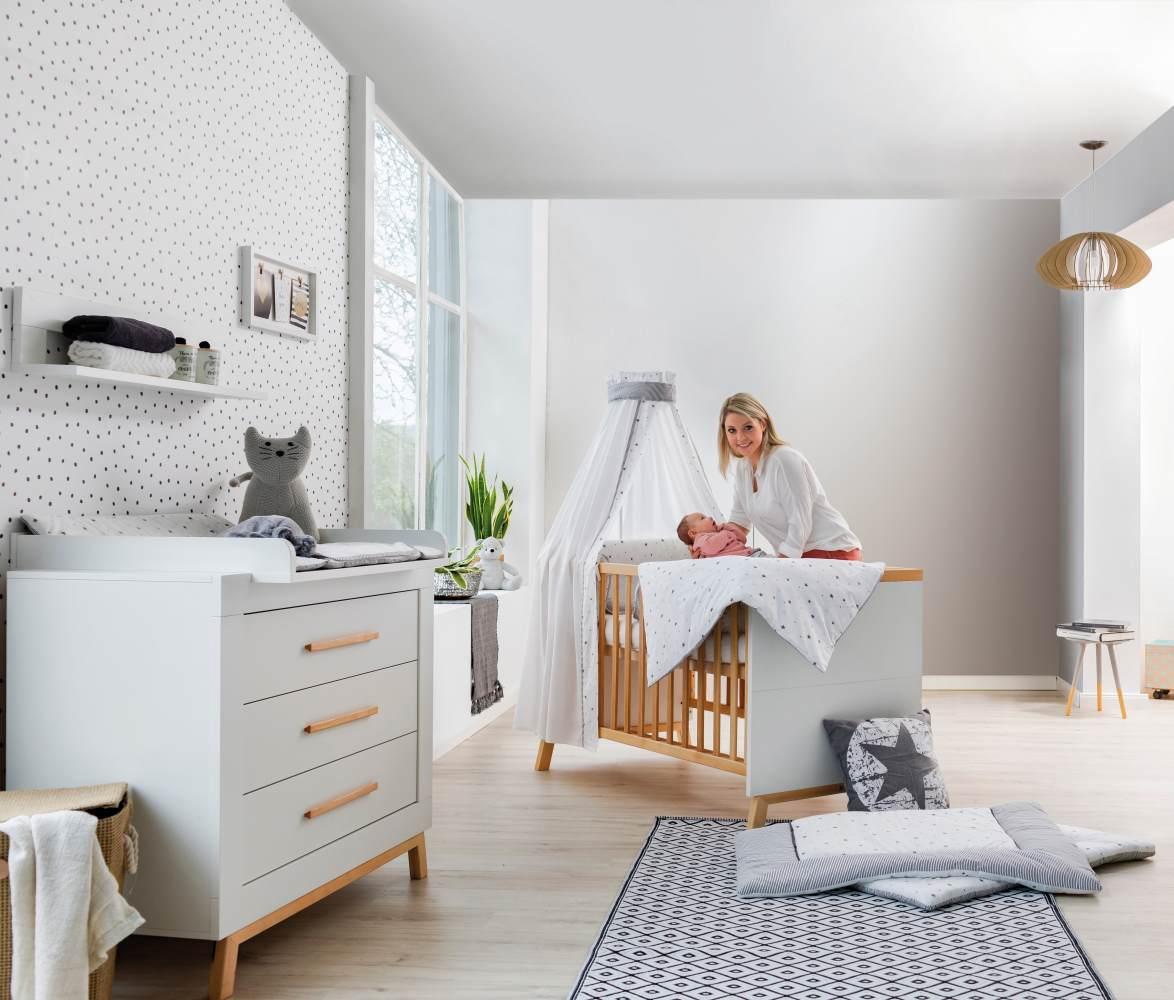 Schardt 'Miami White' 2-tlg. Babyzimmer-Set, weiß Bild 1
