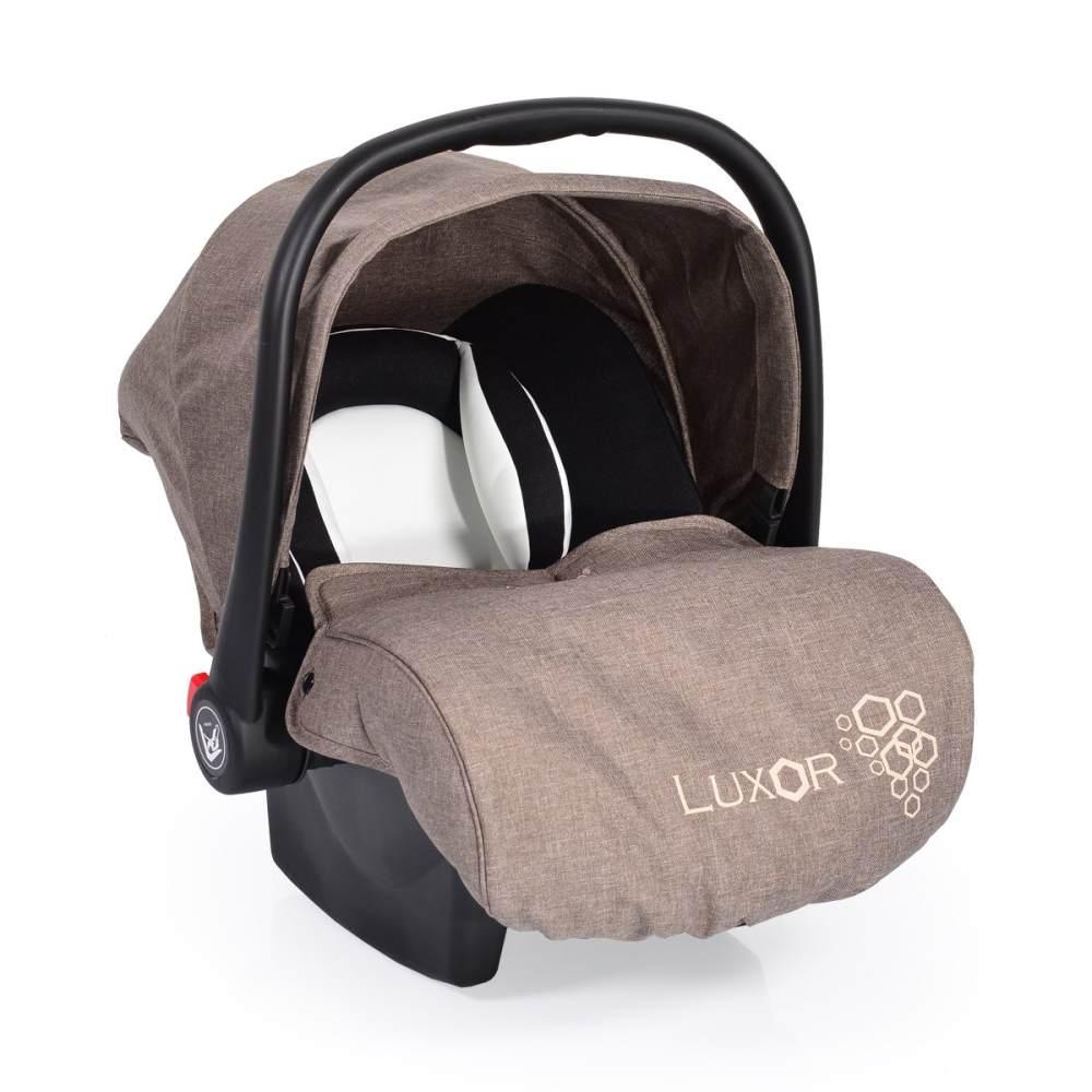 Moni 'Luxor' Babyschale, Gruppe 0+ (0 - 13 kg), beige Bild 1