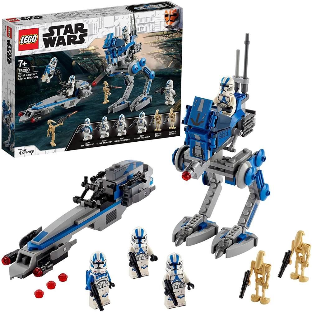 LEGO Star Wars 75280 'Clone Troopers der 501. Legion', 285 Teile, ab 7 Jahren Bild 1