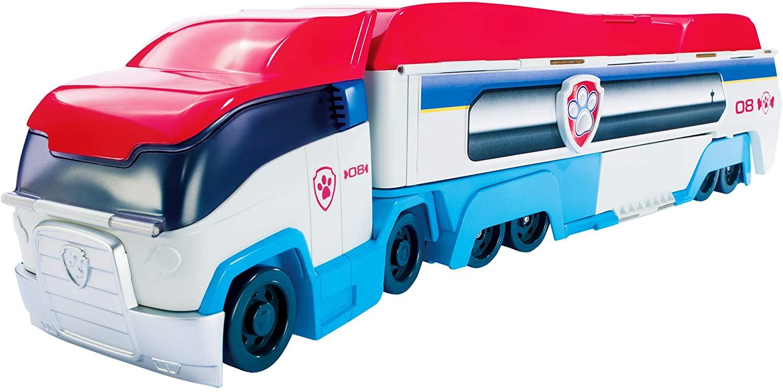 Spin Master 6024966 Paw Patrol 'Paw Patroller', Einsatzfahrzeug mit Sound, Ryder Spielfigur inkl. Fahrzeug und Sticker Bild 1