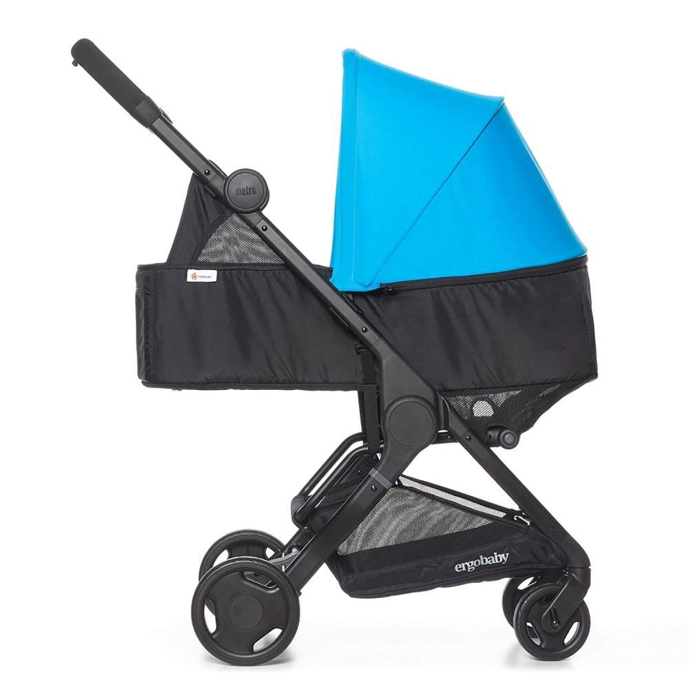 Ergobaby Babywanne Newborn Kit ab Geburt bis 9 kg für Metro Kinderwagen Buggy, Blau Bild 1