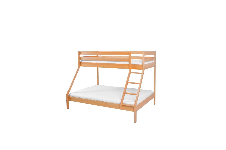 Mobi Furniture Etagenbett Maxim 90/140x200 inkl. Lattenrost Bild 1