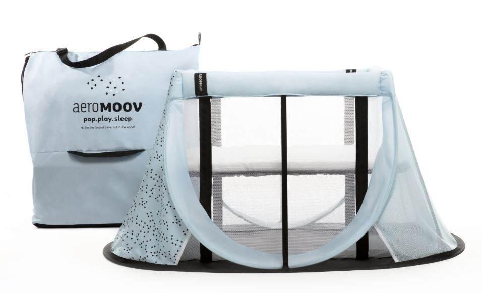 AeroMoov 'Instant' Reisebett hellblau Bild 1