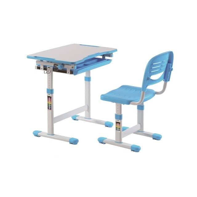 Vipack 'Comfortline' Kinderschreibtisch 201 blau/weiß, inkl. Stuhl Bild 1