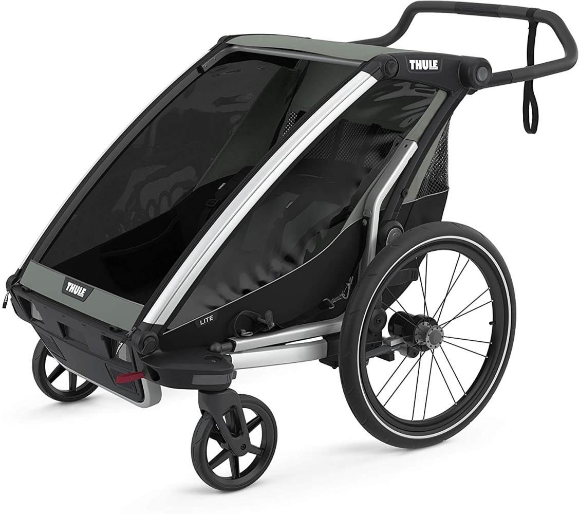 Thule 'Chariot Lite 2' Fahrradanhänger 2021 Agave, 2-Sitzer Bild 1